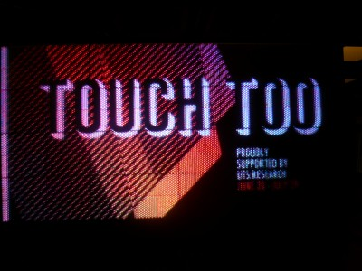 Touch Too Tower Foyer UTS Sydney, Curator - Professor Anne Cranny-Francis