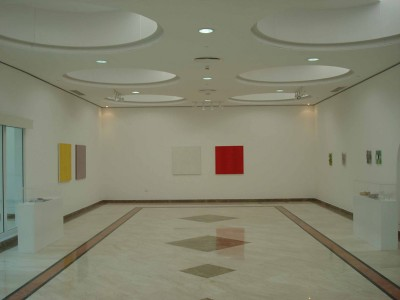 Sensibility of Light and Fabric Rewak Gallery UAE - installation view